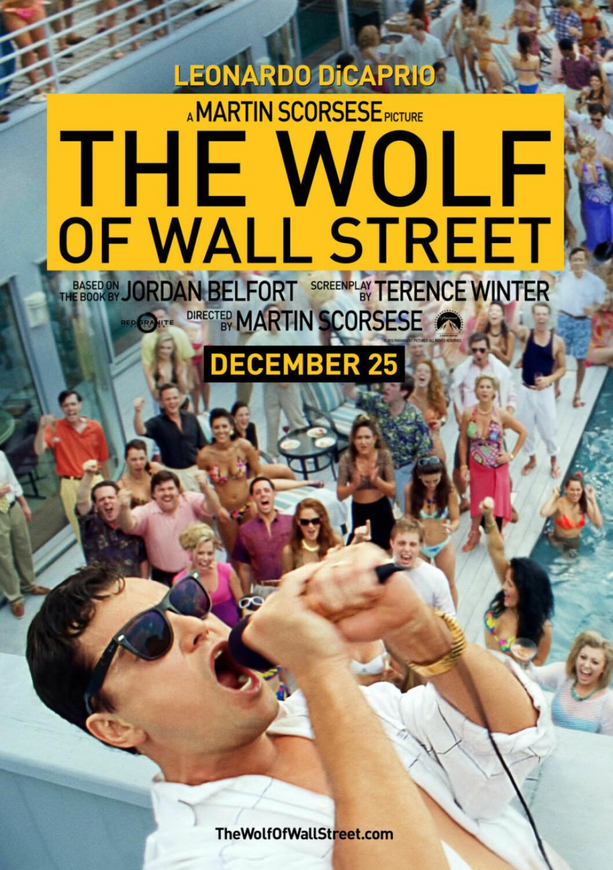 Filmen Wolf of wallstreet är baserad på verkliga händelser.