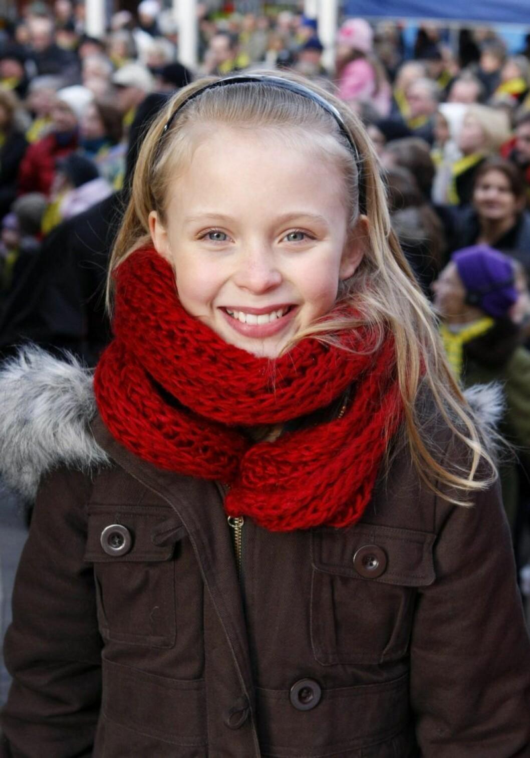 Zara Larsson ler stort