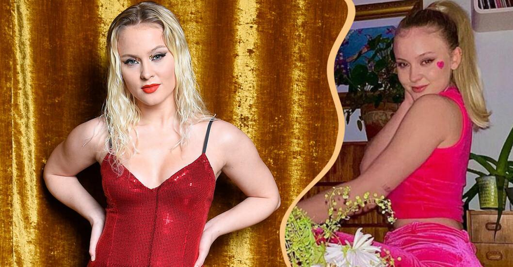 Zara Larsson delar med sig av privata kärleksbilder.