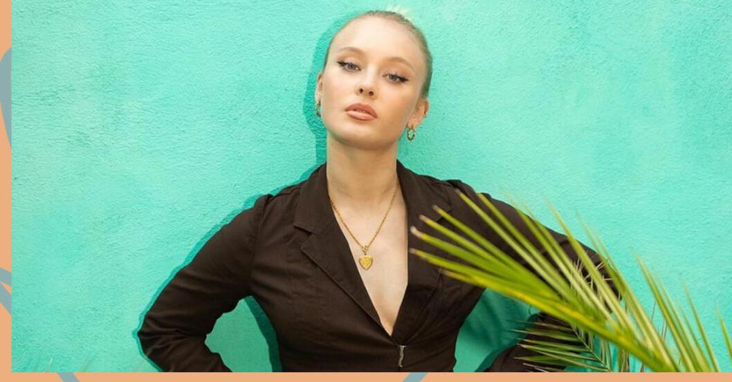 Zara Larsson medger att året har tagit hårt på henne.