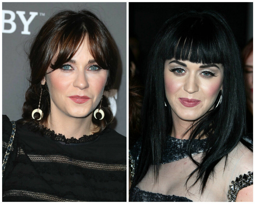 Lika som bär: Zooey Deschanel Katy Perry